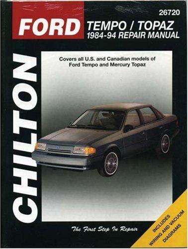 Ford Tempo and Topaz, 1984-94 (Chilton Total: Chilton