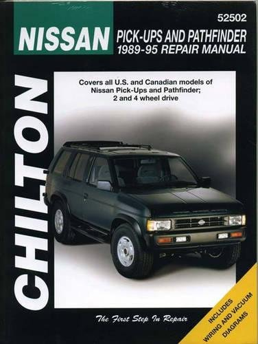 9780801986710: Nissan Pick-Ups and Pathfinder, 1989-95 (Chilton Total Car Care)