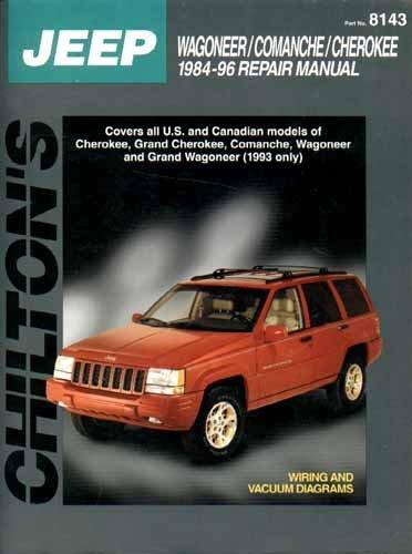 9780801986741 jeep 1984 96 repair manual chilton s total car care rh abebooks com 96 jeep cherokee factory service manual 1996 jeep grand cherokee service manual