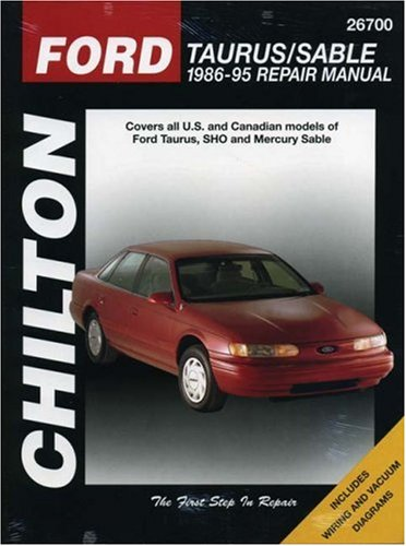 9780801986871: Ford Taurus and Sable, 1986-95 (Chilton Total Car Care Series Manuals)