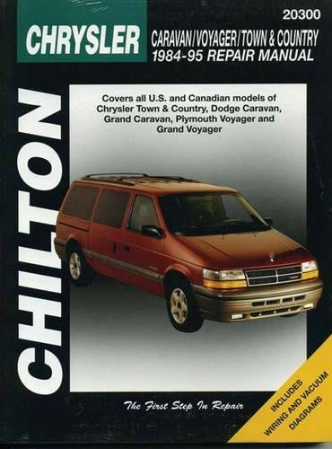 9780801987960: Chilton's Chrysler: Caravan/Voyager/Town & Country 1984-95 Repair Manual