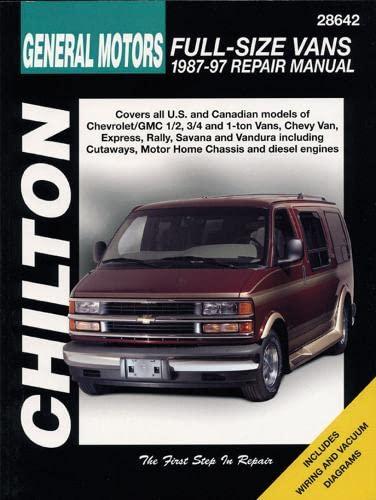 9780801988196: Chevrolet Vans, 1987-97 (Chilton Total Car Care Series Manuals)