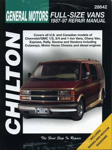 9780801988196: Chilton's General Motors: Full Size Vans 1987-97 Repair Manual