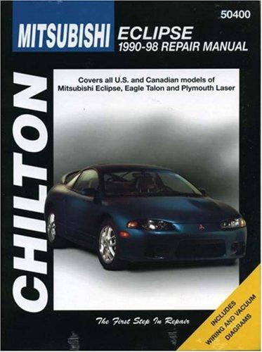 9780801989575: Mitsubishi Eclipse, 1990-98 (CHILTON Repair Manuals)