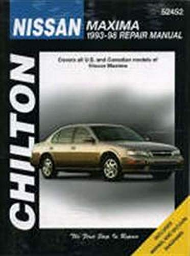 9780801989612: Nissan Maxima, 1993-98 (Chilton's Total Car Care Repair Manuals)
