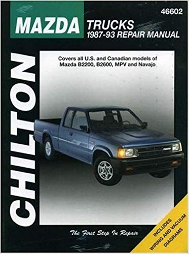 9780801989643: Mazda Trucks, 1987-93 (Haynes Repair Manuals)