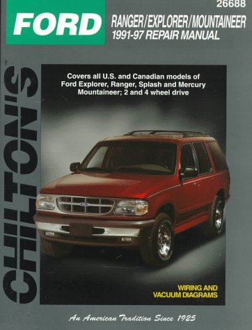 Ford: Ranger/Explorer/Mountaineer 1991-97 (Total Car Care Series): The Nichols/Chilton ...