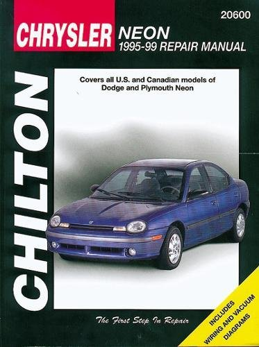 9780801989711 chrysler neon 1995 99 chilton total car care series rh abebooks com chrysler neon repair manual free download chrysler neon workshop manual