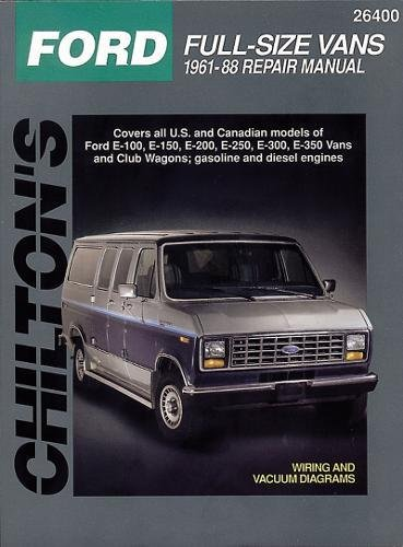 9780801989780: Ford Full-Size Vans, 1961-88 (Chilton Total Car Care Series Manuals)