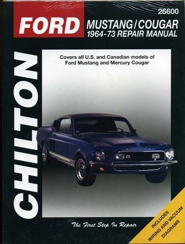 9780801990601: Ford Mustang and Cougar, 1964-73 (Chilton Total Car Care)