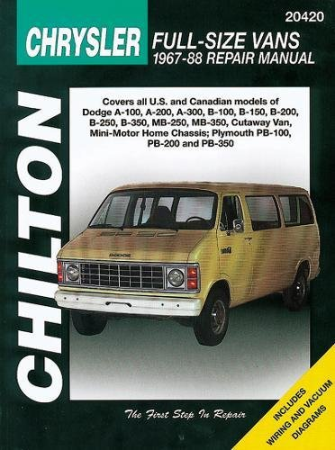9780801990632: Chrysler Full-Size Vans, 1967-88 (Chilton Total Car Care)