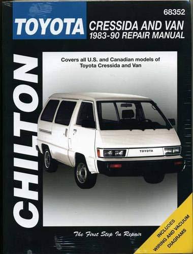 9780801990663: Toyota Cressida and Van, 1983-90 (Chilton Total Car Care Series Manuals)