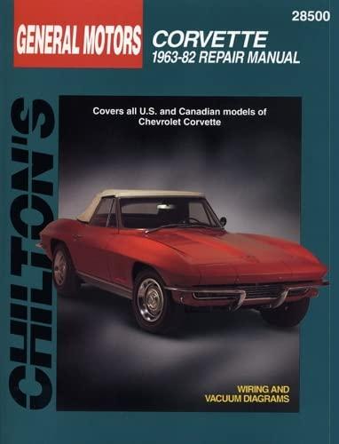 9780801990717: Chilton's Gm Corvette 1963-82 Repair Manual