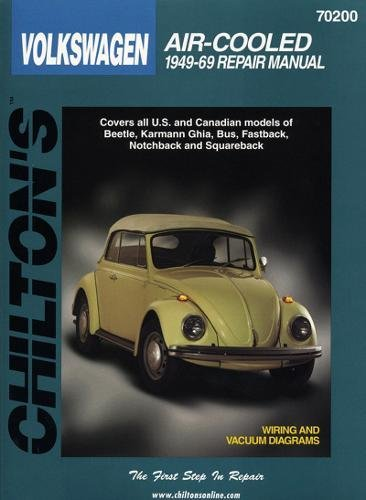 9780801990731: Volkswagen Air-Cooled, 1949-69 (Chilton Total Car Care Series Manuals)