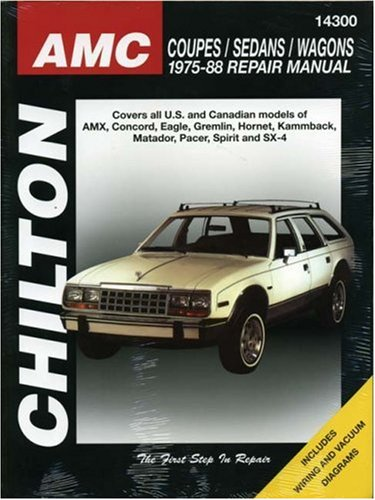 9780801990755: AMC Coupes, Sedans, and Wagons, 1975-88 (Chilton Total Car Care Series Manuals)