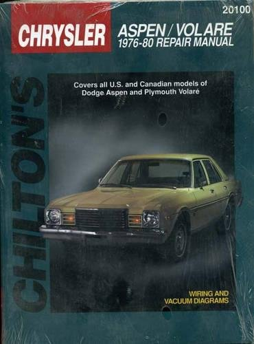9780801990823: Dodge Aspen and Volare, 1976-80 (Chilton Total Car Care Series Manuals)