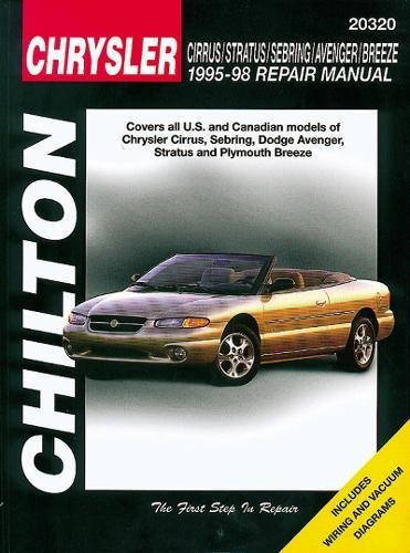 9780801990908: Chilton's Chrysler: Cirrus/Stratus/Sebring/Avenger/Breeze 1995-98 Repair Manual