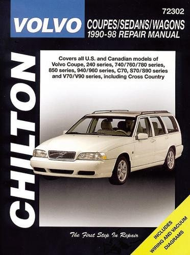 9780801990953: Volvo Coupes, Sedans, and Wagons, 1990-98 (Chilton total car care)