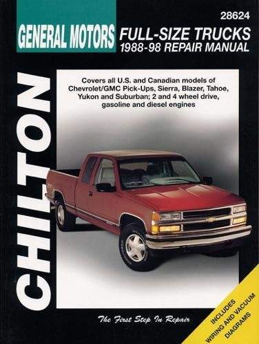 9780801991028: Chevrolet Pick-Ups, 1988-98 (Chilton Total Car Care)