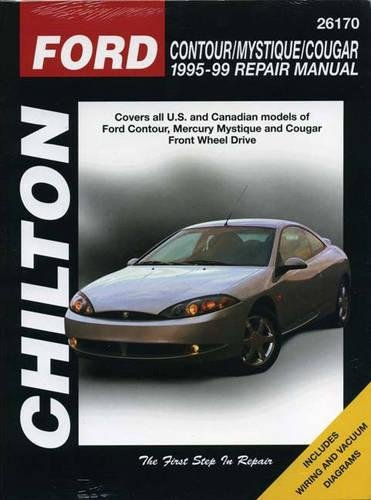 9780801991059: Ford Contour, Mystique and Cougar, 1995-99 (Chilton Total Car Care Series Manuals)