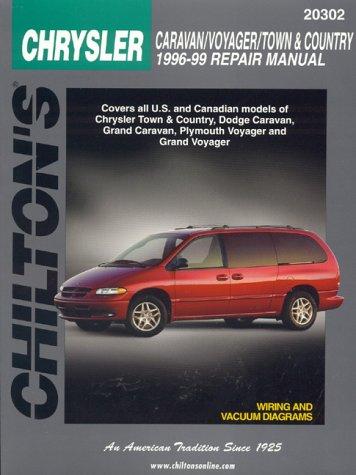 9780801991158: Chrysler-Caravan/Voyager/Town & Country 1996-99 (Chilton's Total Car Care Repair Manuals)