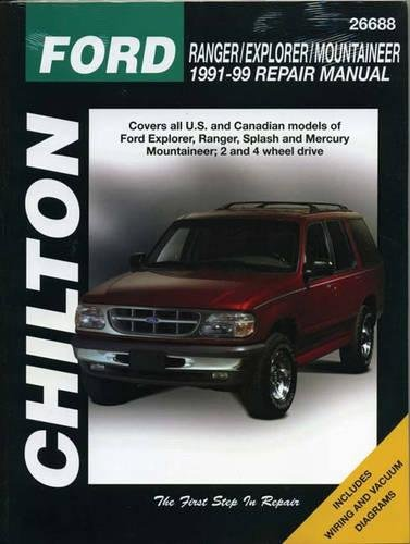 9780801991318: Ford Ranger, Explorer, and Mountaineer, 1991-99 (Chilton Total Car Care Series Manuals)