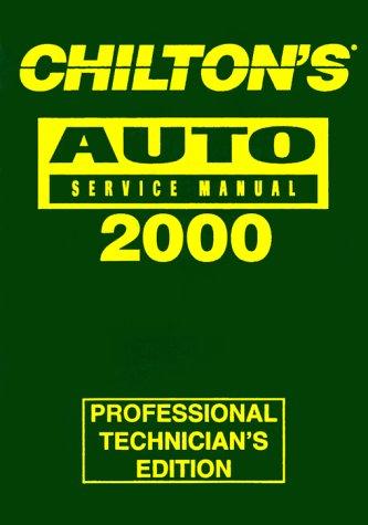 9780801993008: Chilton's Auto Repair Manual 1996-2000