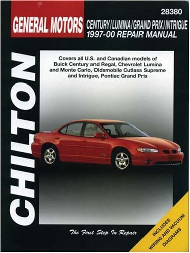 9780801993176: GM Century, Lumina, Grand Prix, and Intrigue, 1997-00 (Chilton Total Car Care Automotive Repair Manuals)