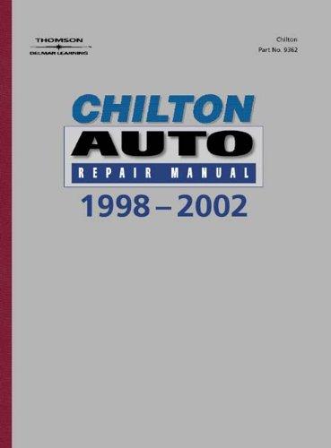 9780801993626: Chilton's Auto Repair Manual, 1998-2002 - Perennial Edition