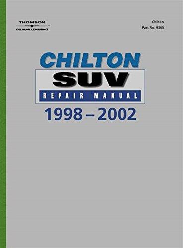 9780801993657: Chilton's SUV Repair Manual, 1998-2002 - Perennial Edition (Chilton's Reference Manuals)