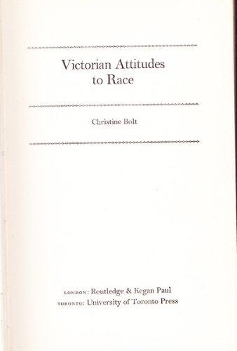 9780802017512: Victorian Attitudes to Race