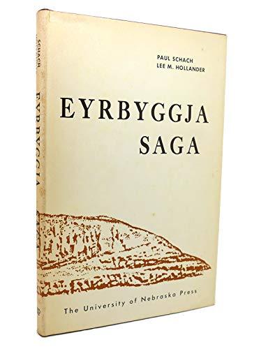 9780802019424: Eyrbyggja saga.
