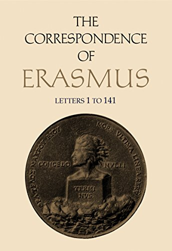 9780802019813: The Correspondence of Erasmus: Letters 1-141 (1484-1500) (Collected Works of Erasmus)