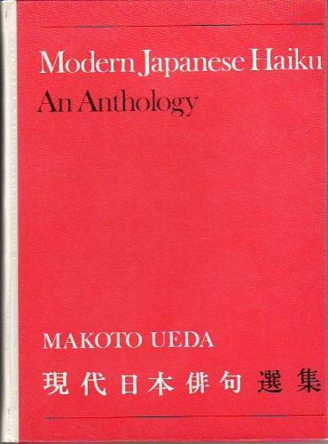 9780802021472: Modern Japanese Haiku: An Anthology