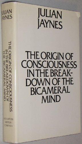 9780802023063: Origin of Conciousness