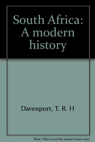 9780802025906: South Africa: A modern history