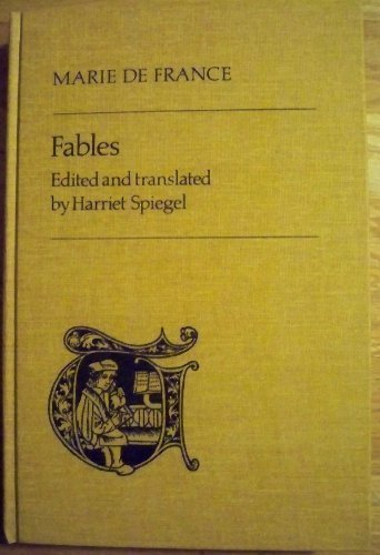 9780802026095: Fables (Toronto Medieval Texts and Translations) (English and French Edition)