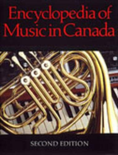 9780802028815: Encyclopedia of Music in Canada