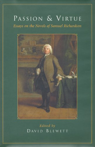 9780802035035: Passion and Virtue: Essays on the Novels of Samuel Richardson