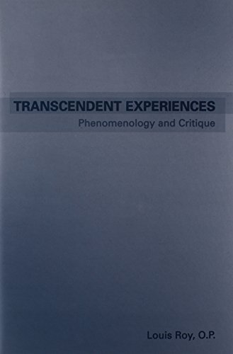 9780802035349: Transcendent Experiences: Phenomenology and Critique (Toronto Studies in Philosophy)