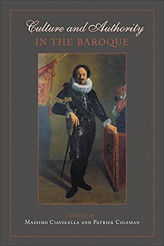 9780802038388: Culture and Authority in the Baroque (UCLA Clark Memorial Library Series)