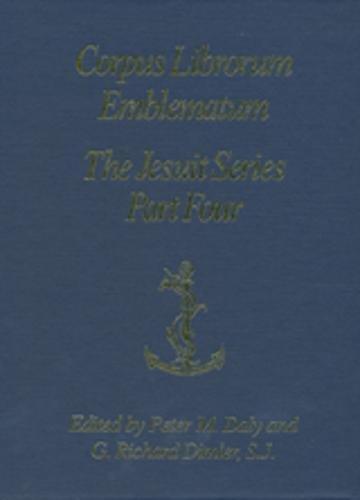 9780802038531: The Jesuit Series Part Four (L-P) (Corpus Librorum Emblematum (Cle))