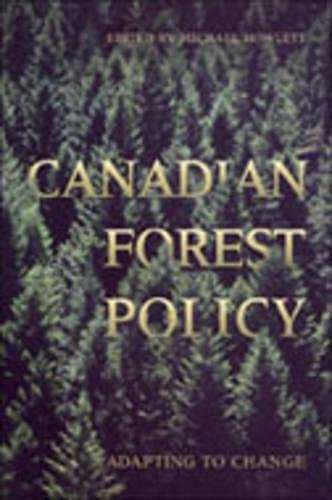 9780802043511: Canadian Forest Policy: Adapting to Change (Studies in Comparative Political Economy & Public Policy)