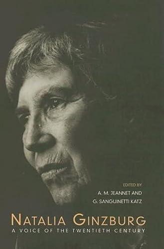 9780802047229: Natalia Ginzburg: A Voice of the Twentieth Century