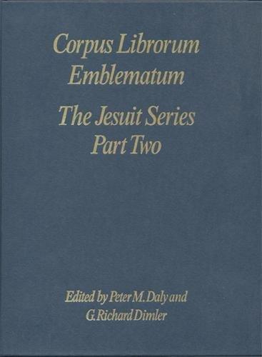 9780802047489: The Jesuit Series Part Two (D-E) (Corpus Librorum Emblematum)