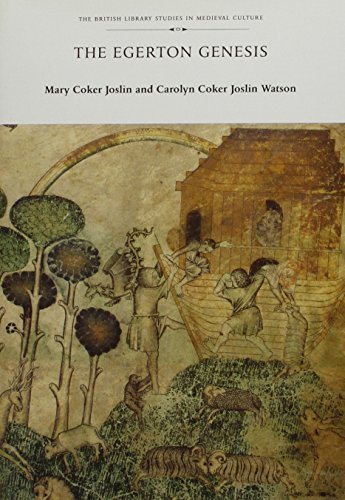 The Egerton Genesis: Joslin, Mary Coker;Watson, Carolyn Coker Joslin