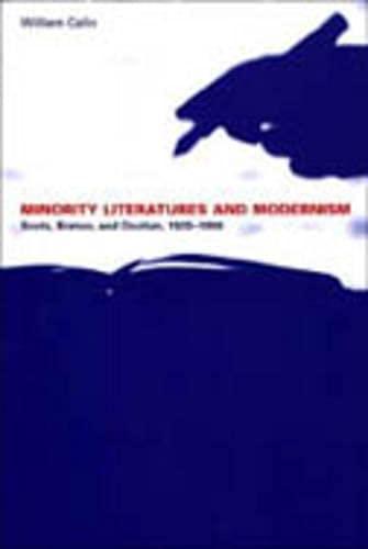 9780802048363: Minority Literatures and Modernism: Scots, Breton, and Occitan, 1920-1990 (University of Toronto Romance Series)