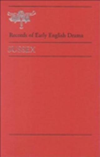 9780802048493: Sussex (Records of Early English Drama)