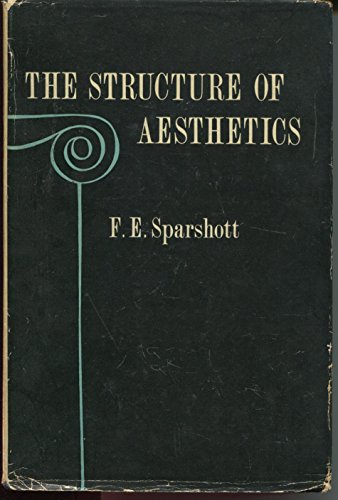 9780802051240: The Structure of Aesthetics