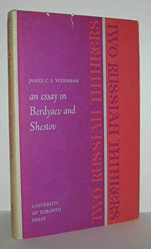 9780802051967: Two Russian Thinkers: An Essay in Berdyaev and Shestov